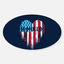 McMullin Heart Decal