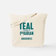 Cute Ovarian cancer Tote Bag