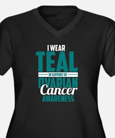 Ovarian Cancer Supporter Plus Size T-Shirt