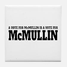Vote For McMullin Tile Coaster