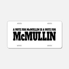 Vote For McMullin Aluminum License Plate