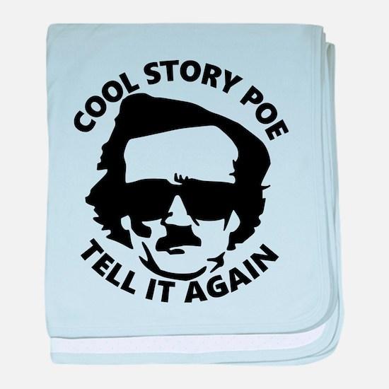 Cool Story Poe B baby blanket