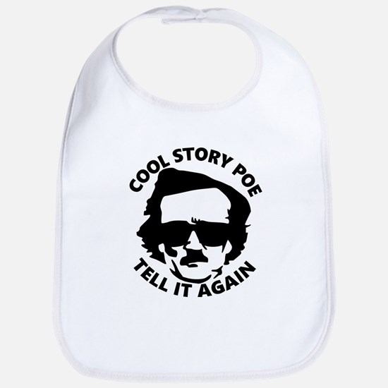Cool Story Poe B Bib