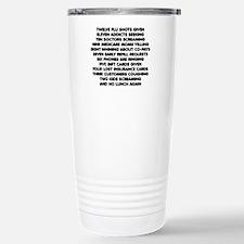 Pharmacist 12 Days of C Stainless Steel Travel Mug