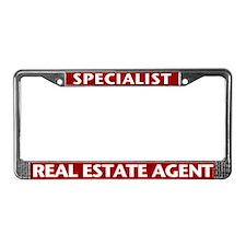SPECIALIST (Burgundy Red) License Plate Frame
