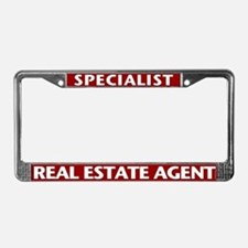 SPECIALIST (Burgundy Red) License Plate Frame