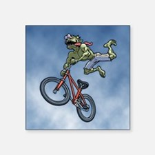 "BMX Beez Square Sticker 3"" x 3"""