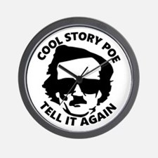 Cool Story Poe B Wall Clock