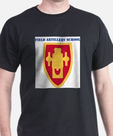 DUI - Field Artillery Center/School with Tex T-Shi