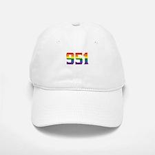 Gay Pride 951 Riverside Area Code Baseball Baseball Baseball Cap