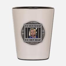 Hillary - Do the Time Shot Glass