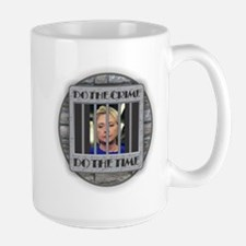 Hillary - Do the Time Mugs