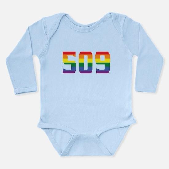 Gay Pride 509 Spokane Area Code Body Suit