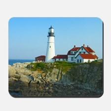 Portland Head Light Mousepad