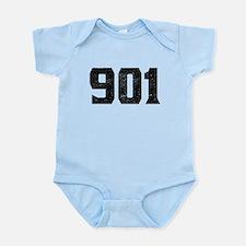 901 Memphis Area Code Body Suit