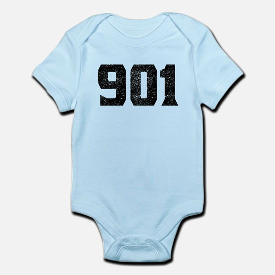 901 Memphis Area Code Body Suit