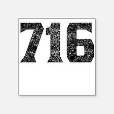 716 Buffalo Area Code Sticker