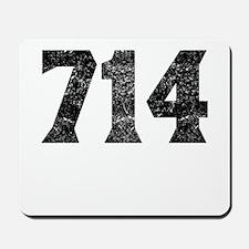 714 Anaheim Area Code Mousepad