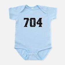 704 Charlotte Area Code Body Suit