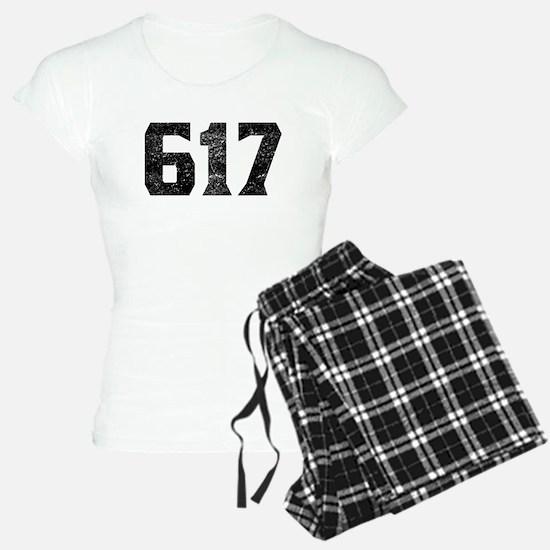 617 Boston Area Code Pajamas