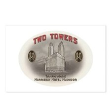 Two Towers Morrison Hotel Cig Postcards (Package o