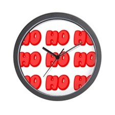 Ho Ho Ho ... Wall Clock