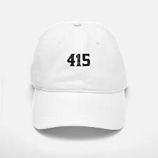 415 San Francisco Area Code Baseball Baseball Baseball Cap
