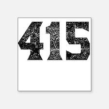 415 San Francisco Area Code Sticker
