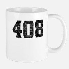408 San Jose Area Code Mugs