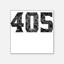 405 Oklahoma City Area Code Sticker