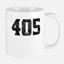 405 Oklahoma City Area Code Mugs