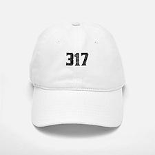317 Indianapolis Area Code Baseball Baseball Baseball Cap