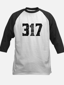 317 Indianapolis Area Code Baseball Jersey