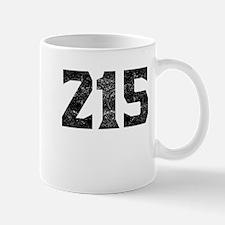 215 Philadelphia Area Code Mugs