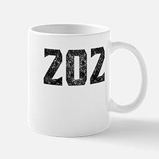 202 Washington DC Area Code Mugs