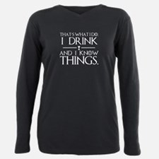 I Know Things Plus Size Long Sleeve Tee