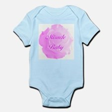 """Miracle Baby"" (pink) - Infant Bodysuit"