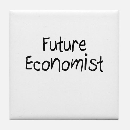 Future Economist Tile Coaster