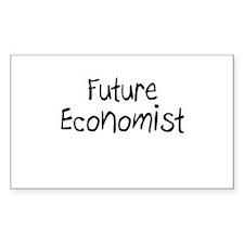 Future Economist Rectangle Decal