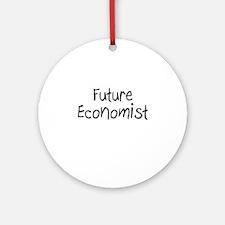 Future Economist Ornament (Round)