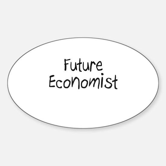 Future Economist Oval Decal