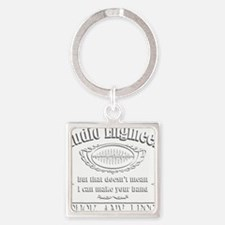 Cool Recording studio Square Keychain