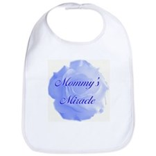 """Mommy's Miracle"" (blue) - Bib"