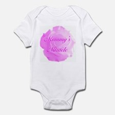 """Mommy's Miracle"" (pink) - Infant Bodysuit"