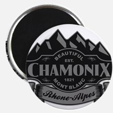 Chamonix Mountain Emble Magnets