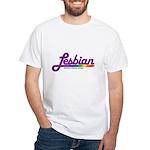 lesbian White T-Shirt