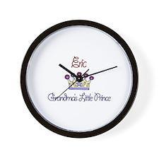 Eric - Grandma's Little Princ Wall Clock