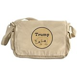 Anti trump Messenger Bag