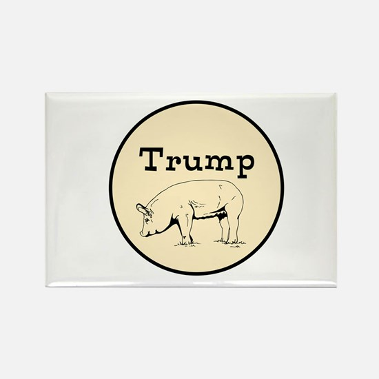 Trump pig, anti tump Magnets