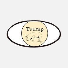 Trump pig, anti tump Patch